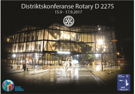 PROGRAMMET FOR DISTRIKTSKONFERANSEN 2017