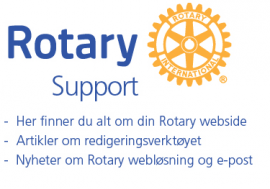 Rotary's supportsider